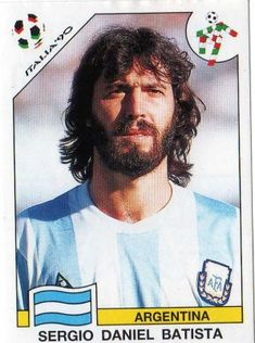 Details about Panini World Cup Story Sergio Batista Argentina No 219 World Football, Football Fans, Fifa Women's World Cup, Player Card, Football Stickers, National Football Teams, World Cup Final, Sports Games, Sports Stars
