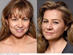 Bobbi Brown Make-up - bobbi loves dark eyeliner and mascara on older women.  She says it makes our eyes pop.