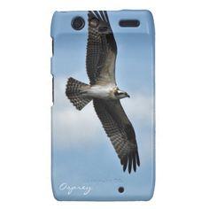 Flying Osprey, Fish Hawk Wildlife Photo on a Phone Case #Gift idea