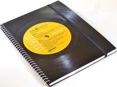 Notizbuch+Schallplatte+Elvis++upcycling++von+VinylKunst+Aurum+-+Schallplatten+Upcycling+der+besonderen+ART+auf+DaWanda.com