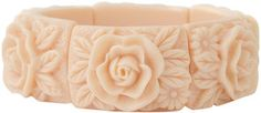 ShopStyle: Forever 21 Carved Rose Bracelet