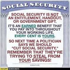 Without Bernie In Office The 1% Trump & Clinton WILL Dismantle Social Security & Medicare. Please Inform Our Seniors & Families. #JUSTICE. #BernieOrBust. #OnlySanders. #BernieStrong.