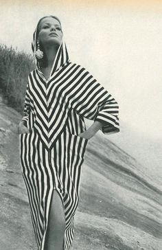 This is a photo by Henry Clarke from Vogue, 1965