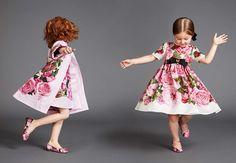 Kid's Wear - Dolce&Gabbana Dolce & Gabbana, Dolce And Gabbana Kids, Little Fashionista, Twin Outfits, Kids Outfits, Cute Fashion, Kids Fashion, Young Fashion, Stylish Kids