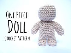 5.8k06 Learn how to Crochet Dolls in one-piece without sewing at all. If you are like me and not a ... Read more...