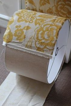 DIY how to make over a lamp shade