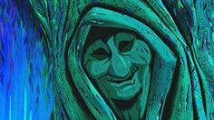 "Walt Disney Screencapture of Grandmother Willow from ""Pocahontas"" (1995)"