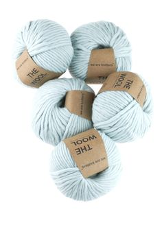 5-Pack of 100% Peruvian Wool Yarn Balls