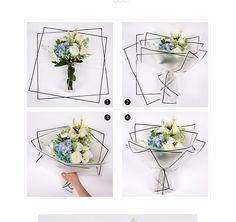 边框平面鲜花包装韩国高档雾面纸 花店花束DIY材料用品牛皮纸-淘宝网