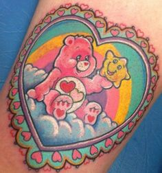 care bears tattoo, c