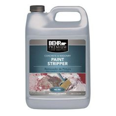 BEHR 1 gal. Concrete and Masonry Paint Stripper-99201 - The Home Depot