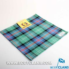 Clan Sutherland Ancient Tartan Handkerchief