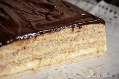 Prajitura cu biscuiti si crema de vanilie, fara coacere | Retete culinare cu Laura Sava - Cele mai bune retete pentru intreaga familie