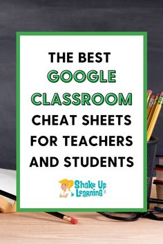 Right now, teachers are seeking lots of extra resources to help with home learning during this unexpected school closure period. Here are some Google Classroom Cheat Sheets for Teachers and Students! #googleclassroom #edtech | shakeuplearning.com Free Teaching Resources, Teacher Resources, Teaching Ideas, Google Classroom, Classroom Ideas, School Closures, Education Humor, Learning Tools, Cheat Sheets