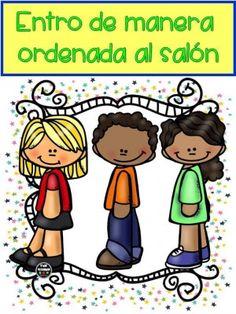 Reglamento de Clase (8)                                                                                                                                                      Más Classroom Rules, Classroom Language, Preschool Classroom, Classroom Decor, Bilingual Classroom, Classroom Organization, Kids Library, Grande Section, School Clipart