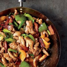 Worlds collide with this dish! #Turkey #spicy #stirfry #bacon
