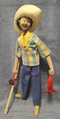 Vintage Klumpe Roldan Doll.