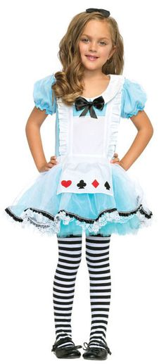 Adorable Alice In Wonderland Kids Costume - Mr. Costumes