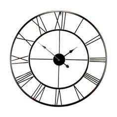 Found it at Wayfair.co.uk - Brooklyn Oversized 80cm Metal Wall Clock