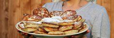 Food is good Easy Hanukkah Recipes, Hanukkah Food, Pastry Recipes, Cooking Recipes, Baby Food Recipes, Sweet Recipes, Tacos Mexicanos, Best Pancake Recipe, Peanut Butter