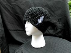 Crochet Hat cloche by CottageStreetStation on Etsy