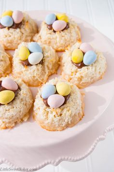 These coconut macaroons are deliciously crispy on the outside and delightfully chewy on the inside. They are perfectly decorated for Easter and fun for kids to help make. This is a great recipe to make with little kids. You just mix everything together in one bowl, shape the coconut mixture onto a baking sheet, bake...Read More »