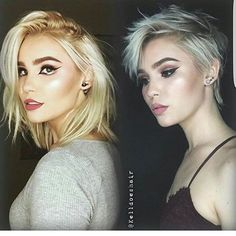 Blonde Pixie Cut 2017