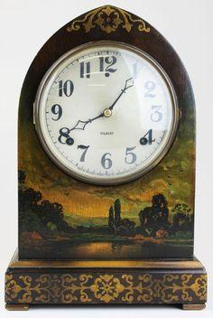 c168c8aa94d ca 1920 Gilbert beehive shelf clock on. Relógios AntigosRelógios ...