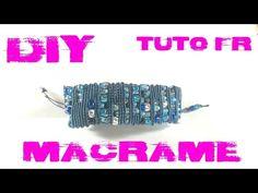DIY - Tuto FR / Bracelet Serpentin en macramé - YouTube