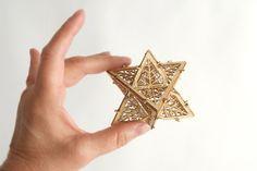 DIY Model Kit Architectural Ornament Star от ThomasHouhaDesigns, $12.00