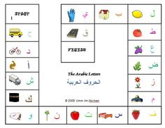 A Muslim Child is Born: Arabic Alphabet Game for Toddlers: