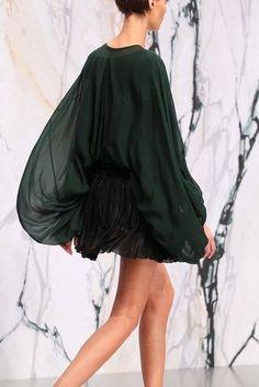 Blouson at See by Chloe Runway Fashion, Spring Fashion, Autumn Fashion, Fashion 2014, Paris Fashion, Timeless Fashion, High Fashion, See By Chloe, Outfit