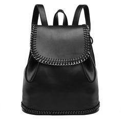 53.82$  Buy now - http://vihvn.justgood.pw/vig/item.php?t=p2q2ul29769 - Fashion girls drawstring bag femininas rucksack female knapsack PU leather backp 53.82$