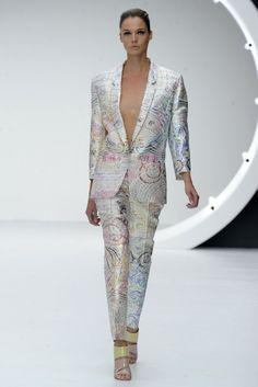 Mary Katrantzou RTW Spring 2013 - I need this suit!!!