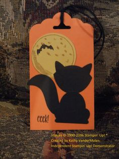 Stampin up Tag Fox Punch