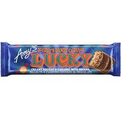 Amy's LUCKY Organic Candy Bar (Nougat, Caramel, Mixed Nuts & Dark Chocolate)