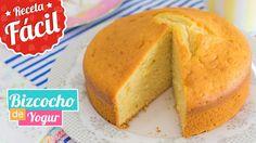 Fluffy yogurt sponge cake without oil or butter. Yogurt Cake, Cupcakes, Americas Test Kitchen, Easy Cake Recipes, Vegan Desserts, Cornbread, Bakery, Easy Meals, Cooking