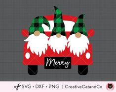 Christmas Truck, Christmas Gnome, Christmas Signs, Christmas Holidays, Christmas Doormat, Christmas Paper Crafts, Christmas Decorations, Christmas Ornaments, Diy Christmas Cards Cricut
