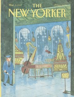 The New Yorker - Monday, March 9, 1987 - Issue # 3238 - Vol. 63 - N° 3 - Cover by : Charles Addams