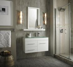 Painting : Grey Wall Color With Contemporary White Vanity Cabinet For Small Bathroom Plan 30 Bathroom Wall Color Bathroom Colors Pictures. Bathroom Paint Colors For Small Bathrooms. Bathroom Vanity Designs, Small Bathroom Vanities, White Vanity Bathroom, Bathroom Trends, Chic Bathrooms, Bathroom Sets, Small Bathrooms, Gray Bathrooms, Small Vanity