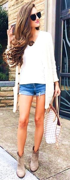 #summer #trending #outfits Neutrals Denim - more on http://ift.tt/2rynWxj