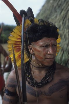 from the Guarani Kaiowa tribe of the Amazon Rainforest // Photographer Rosa Gauditano -- click image for more photos