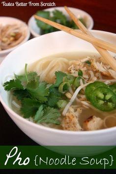 Pho Noodle Soup ~ Click To Recipes