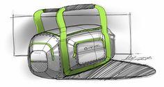 Gym Bag Sketch