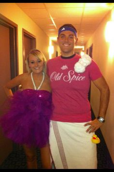 Couples Costume - Loofah and Old Spice