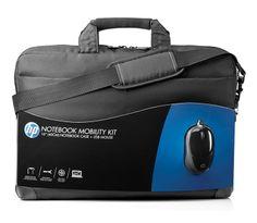 [CATALOGUE MOBILITE MAI 2014] Notebook Mobility Kit: Un ensemble mallette-souris classique et décontracté. L'ensemble indispensable et idéal : La combinaison d'une mallette efficace et solide et d'une souris filaire fiable est le duo idéal pour les utilisateurs d'ordinateur en déplacement. La mallette robuste et spacieuse protège un ordinateur portable et dispose de compartiments. Réf. H6L24AA#ABB. http://www.exertisbanquemagnetique.fr/info-marque/HewlettPackard #HP #Sacoche #Ordinateur