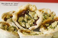 """Projecto Naturopatia: Mini Quiche de """"pizza"""" - Ideal para levar para a escola ou para festas!!"""