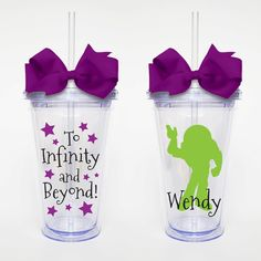 To Infinity and Beyond Toy Story  Acrylic Tumbler by SweetSipsters