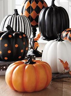Add fun to your Halloween display this year without the fuss of real pumpkins with the Polka Dot Pumpkin; a stylish and festive pumpkin that's sure to last for years to come.