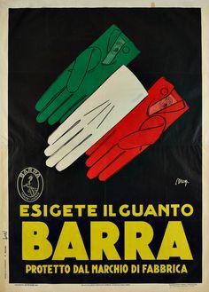 1926, guanti Barra